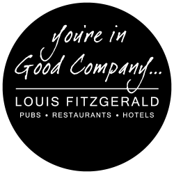 Logo for Louis Fitzgerald Pub Group who is a customer of anyExcuse
